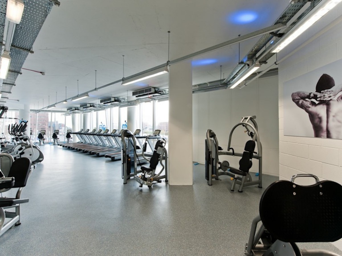 Internal image of the The Gym Group in Liverpool, UK