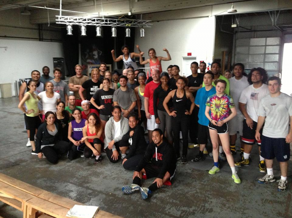 Group photo of BeastfitNation members