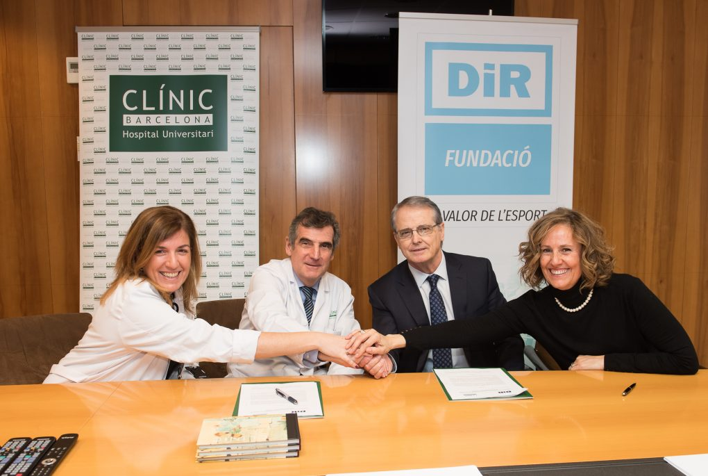 The agreement was signed by Ramón Canela , General Director and Founder of DiR, and Dr. Josep M. Campistol , General Director of the Hospital Clínic of Barcelona