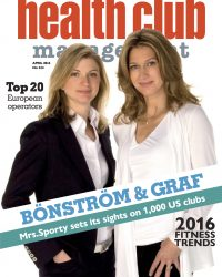 Picture of Valerie Bonstrom and Stefi Graff of Mrs.Sporty fitness chain